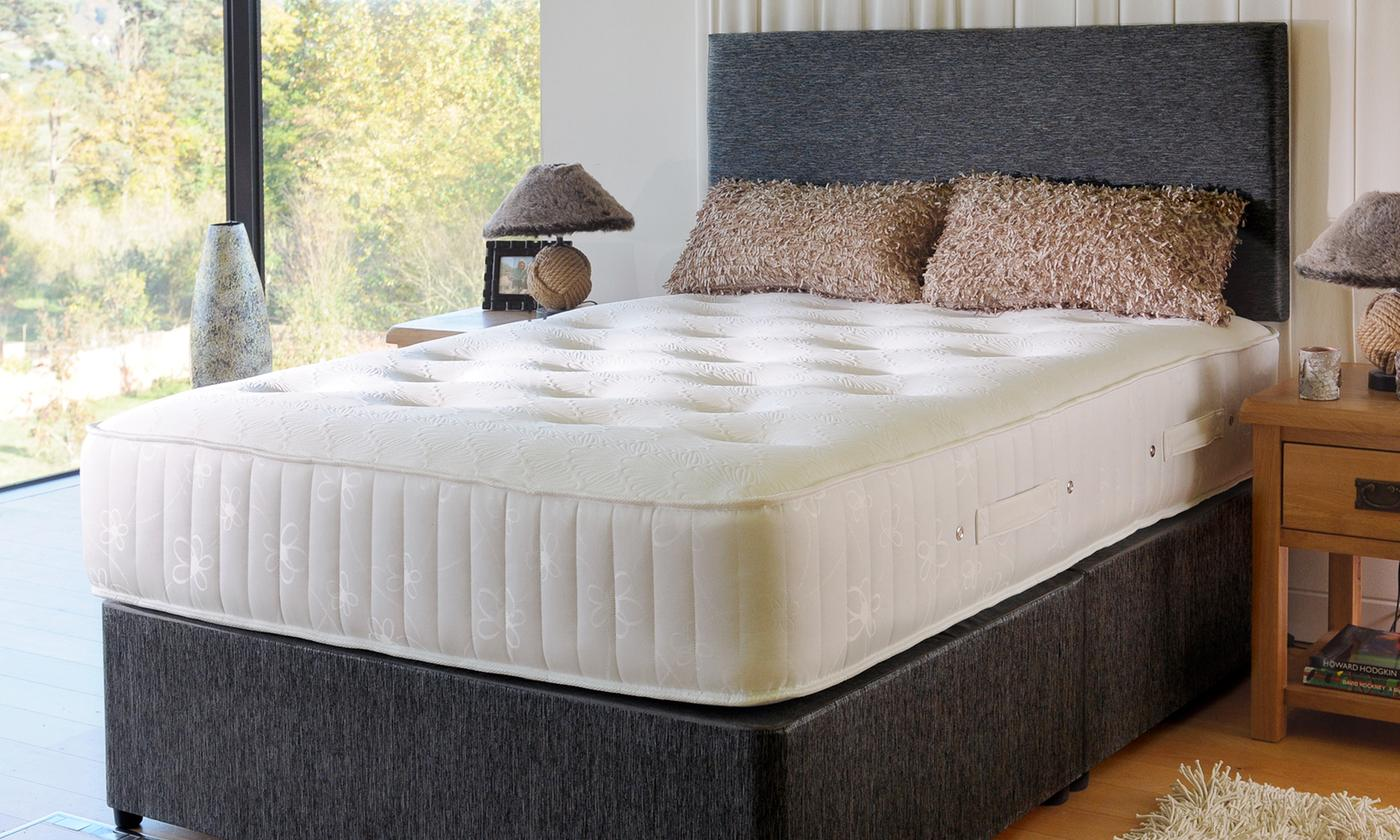 Floral Double-Knit Memory Foam Mattress from £135 (53% OFF)