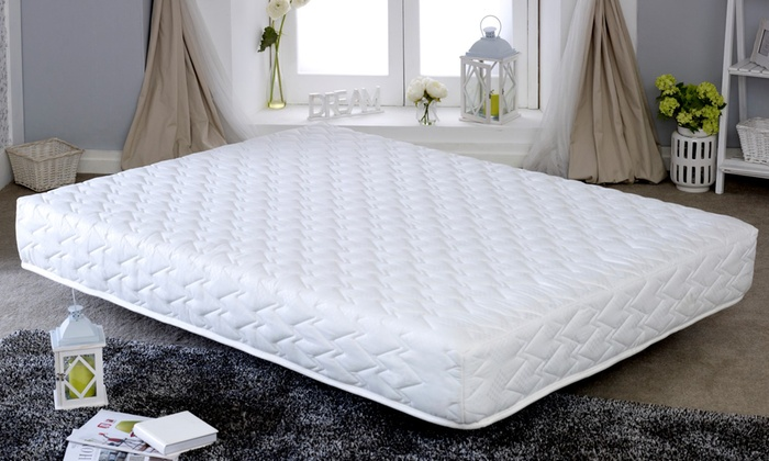 Cool Blue Hybrid Memory Foam Mattress in Choice of Size from £65 With Free Delivery