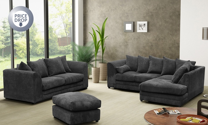Milo LH Or RH Corner From £329.99 Plus 3-Seat Sofa Set In Choice Of Colour From £529.99, Free Delivery (Up To 53% Off)