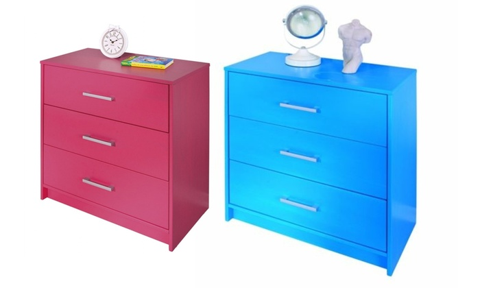 Links New York Action Chest of Three Drawers from £43.99