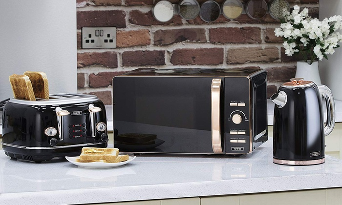 Up To 24 Off Tower Kitchen Appliances Set Groupon