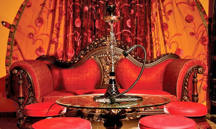 Pasha Restaurant & Hookah Lounge - Schall Circle: Hookah and Juice at Pasha Restaurant & Hookah Lounge (50% Off). Two Options Available.
