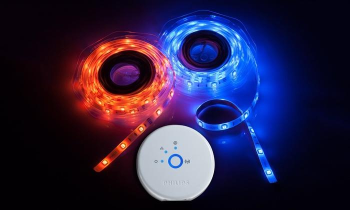 Philips Hue Personal Wireless Lighting Strip Kit 3 Pc