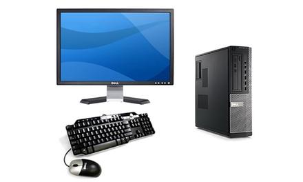 """Sobremesa Dell Optiplex 790reacondicionado con pantalla 17"""", teclado y ratón opcionales (envío gratuito)"""