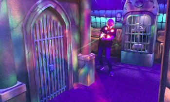 Up to 43% Off Laser Tag & Mini Golf at Monster Mini Golf