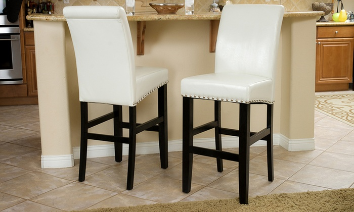 Clifton Bar Stool Set 2 Pieces Groupon