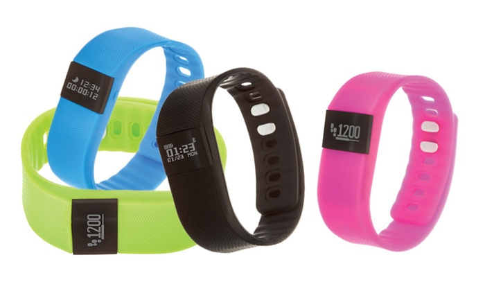 bluetooth fitness tracker watch groupon goods