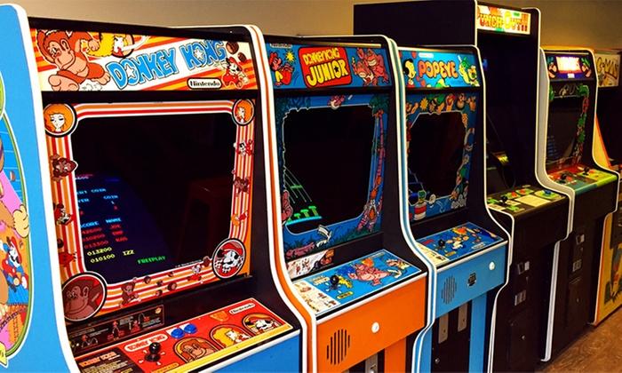 Arcade vidéo londres adulte