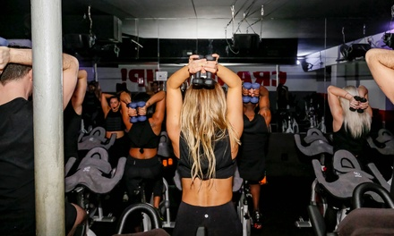 Five-Pack or One Month of Premium Indoor Cycling Classes at Crank Cycling Studio (Up to 43% Off)