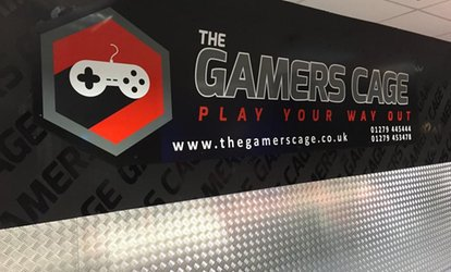 One-Hour Private Gaming Room Hire for Up to 12 or 16 People at The Gamers Cage (Up to 40% Off)