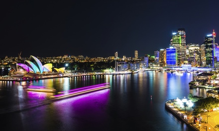 Australia Day Night Cruise with Buffet and Drinks for Child $49 or Adult $59 at Legend Cruises Up to $99 Value