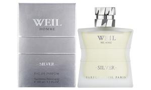 Eau de Parfum pour Homme Weil Silver 100 ml