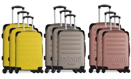 Set di 3 valigie Infinitif