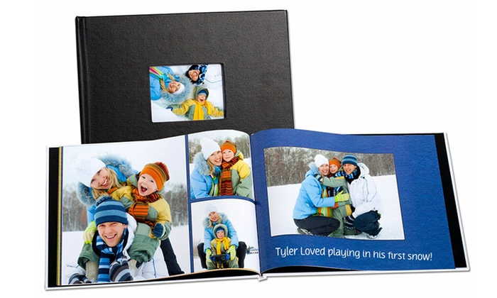MailPix: One, Two, or Three 20-Page Window Cover Linen Photobooks from MailPix (Up to 86% Off)