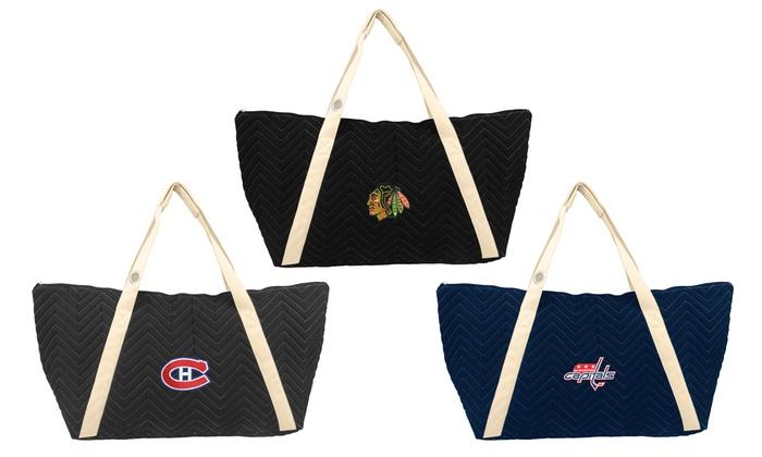 NHL Chev-Stitch Weekender Tote