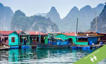 Vietnam and Cambodia: $1,589 Per Person for an 18-Day Tour with Meals, Tours and Transfers with Halong Tours Booking