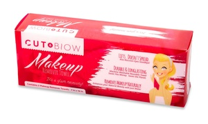 Cut and Blow Makeup Remover Towel (2-Pack)