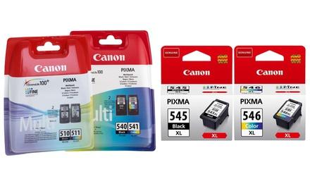 Originele Canon inkt cartridges, inclusief verzending