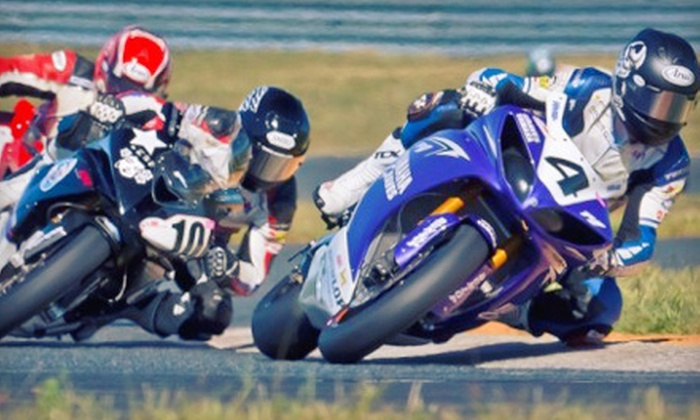 """New Jersey Motorsports Park - Corbin City: 3-Day Package to GEICO Motorcycle AMA Pro Road Racing """"Devil's Showdown"""" at New Jersey Motorsports Park (Up to 67% Off)"""