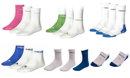 Two or Three Pairs of Men's HEAD Sports Socks or Trainer Socks