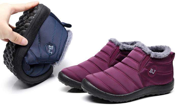 30224611003fb jusqu à 64% Boots imperméables fourrées neige   Groupon