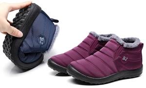 Boots imperméables fourrées neige