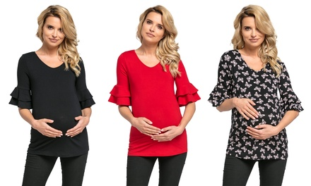 HalfSleeve Maternity Top