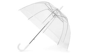 Parapluie transparent résistant