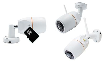 WiFi 360° HDcamera voor gebruik buitenshuis met SDkaarten