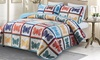 Lorient Home Butterfly Oversized Quilt Set (2- or 3-Piece)