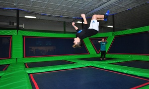 Up to 40% Off Jump Passes at Rebounderz at Rebounderz, plus 6.0% Cash Back from Ebates.