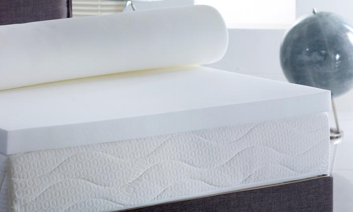 Memory Foam Topper in Choice of Depth and Size for £34.99