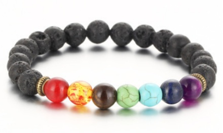 One, Two or Four Chakra Stone Bracelets