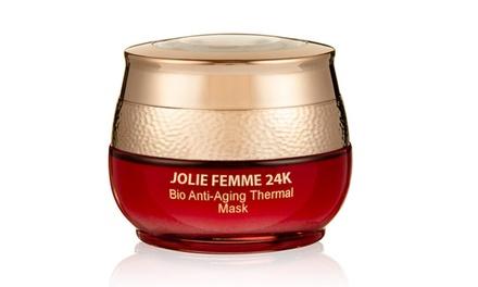 Jolie Femme 24K Bio Thermal Anti-Aging Mask (1.7 Fl. Oz.)