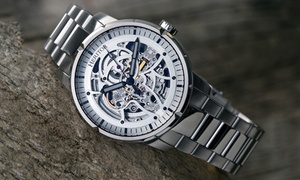 Heritor Automatic Ryder Skeleton Watch
