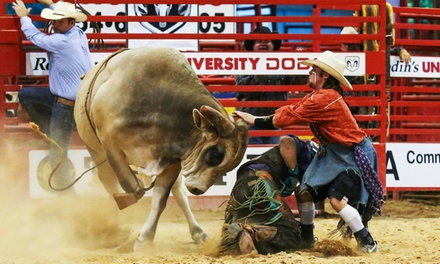 Weekley Brothers Davie Pro Rodeo with Optional VIP Seats, Finger Food, and Drinks on Saturday, June 23, at 7:30 p.m.
