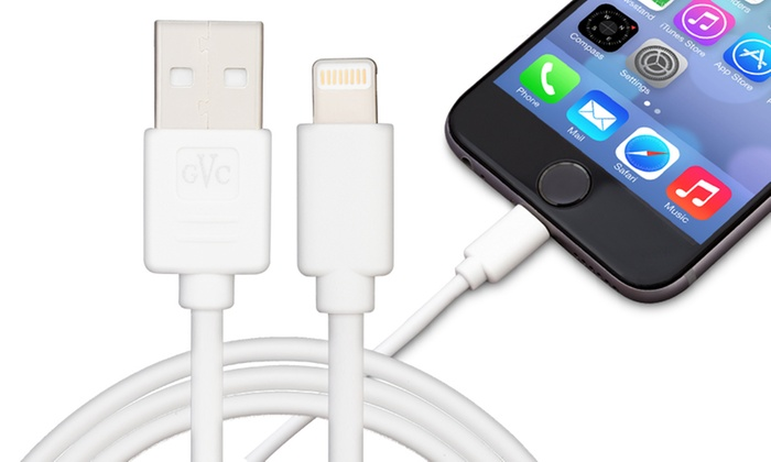 1m or 3m Lightning Charger Cable for iPhone or iPad for £2.48