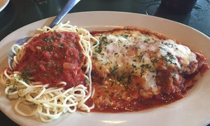 Up to 50% Off Italian Cuisine at La Foresta   at La Foresta Italian Cafe & Pizzeria, plus 9.0% Cash Back from Ebates.