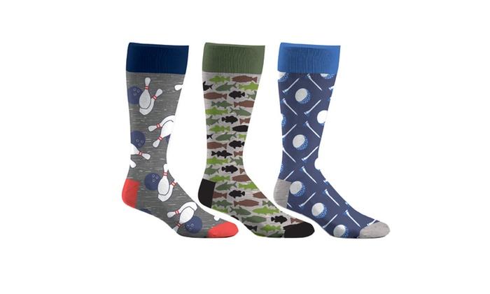 Men's Patterned Socks (3-Pack)