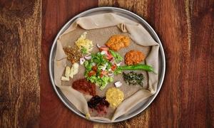 RISTORANTE ERITREA: Menu tipico eritreo con carne o vegetariano, dolce, tè speziato e vino bio al Ristorante Eritrea (sconto fino a 64%)
