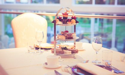 image for Afternoon Tea with an Optional Glass of Prosecco for Two or Four at The Ramada Park Hall Hotel & Spa (40% Off)