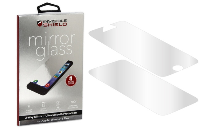 Up To 55 Off Invisible Shield Glass For Iphone Groupon