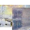 "24""x20"" Traditional Winter Landscape Prints"