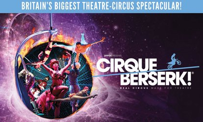 image for Cirque Berserk, One Best Available Band A or B Ticket, 31 January - 3 February, Orchard Theatre (Up to 50% Off)