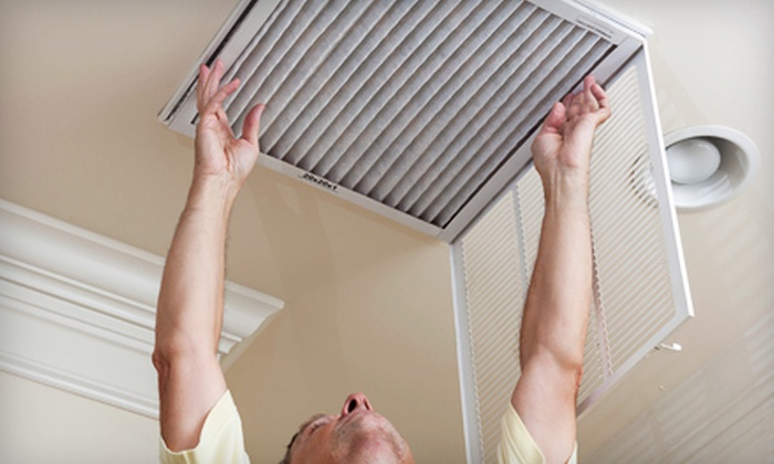 Professional Air Duct Cleaning - Aurora: $49 for Air-Duct and Furnace Cleaning from Professional Air Duct Cleaning (Up to $527.95 Value)
