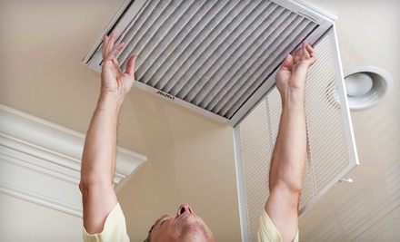 $49 for Air-Duct and Furnace Cleaning from Professional Air Duct Cleaning (Up to $527.95 Value)