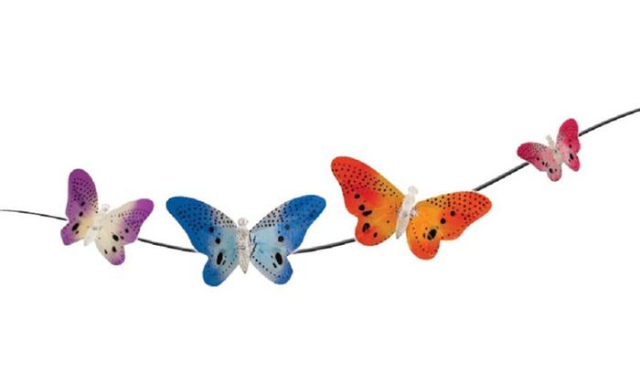 Butterfly Solar Garden Lights ...