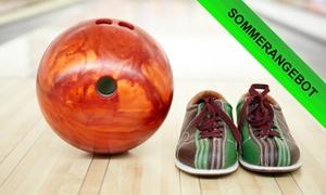 Bowling Lounge Overath: 2x oder 3x 55 Min. Bowling-Einheiten für bis zu acht Personen in der Bowling Lounge Overath (bis zu 69% sparen*)