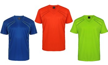Lee Hanton Men's Short-Sleeve Active Performance T-Shirt (S-3XL)