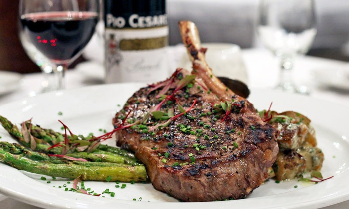 Fiamma Grille, Compari's on the Park, and the Sardine Room - Fiamma Grille: Signature Cuisine at Fiamma Grille, Compari's on the Park, or The Sardine Room (Up to 47% Off). 3 Options.